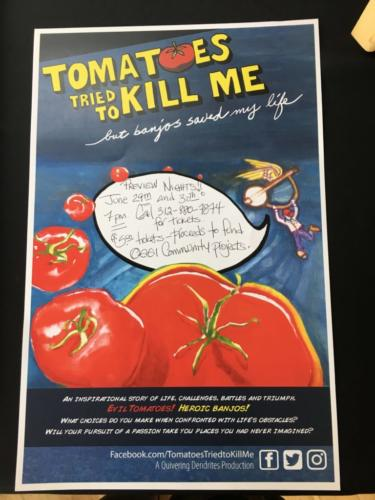 Tomatoes Tried to Kill Me, but Banjos Saved My Life