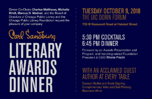 Literary Awards Dinner