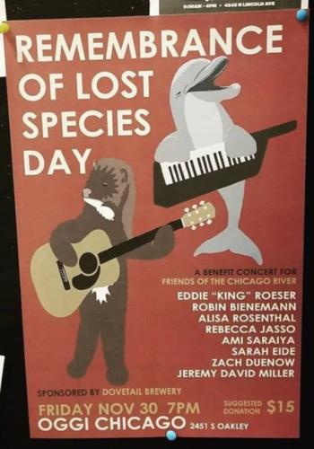 Remembrance of Lost Species Day